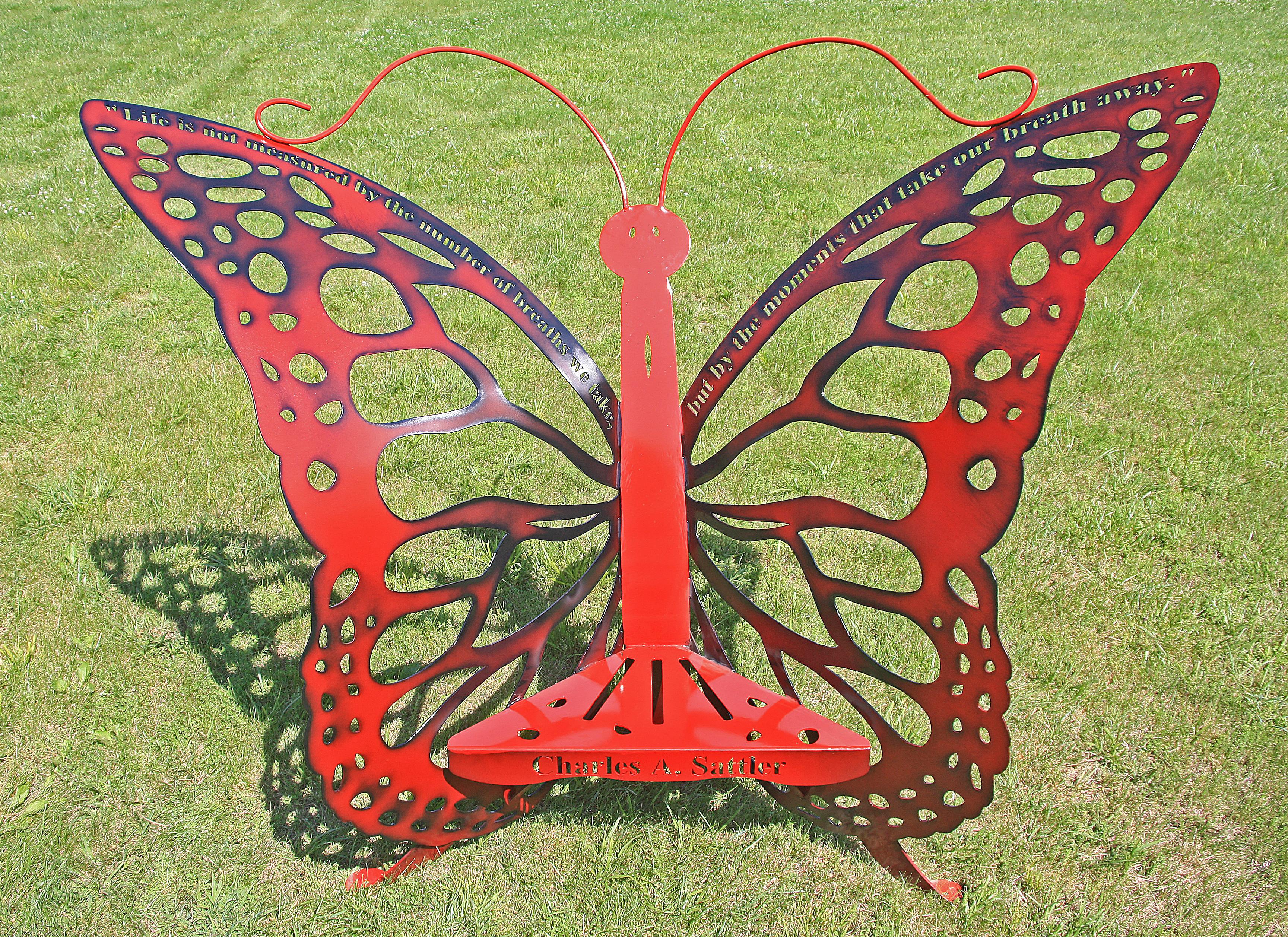Custom Memorial Butterfly Thorne