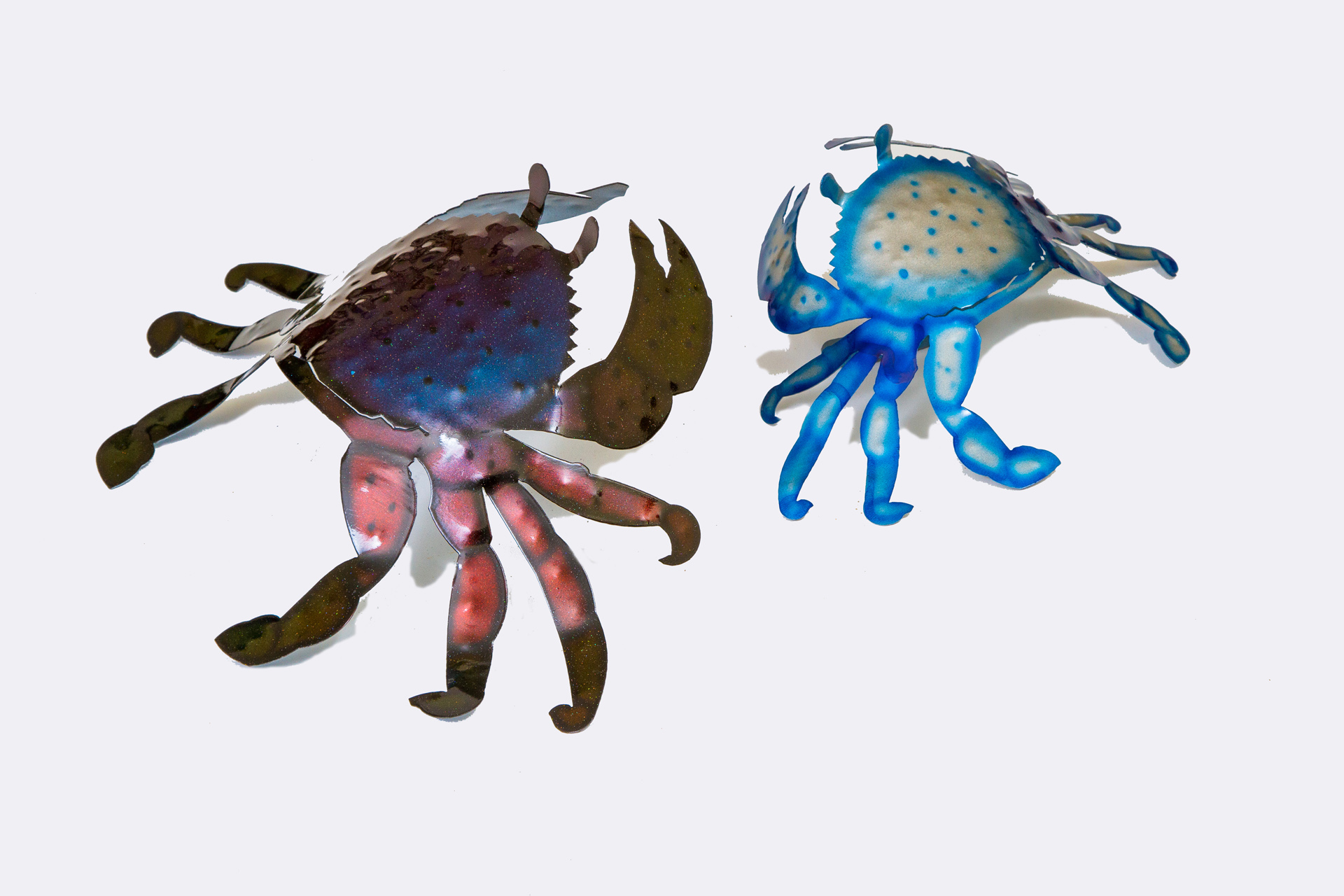 Airbrush crabs - Blue crab